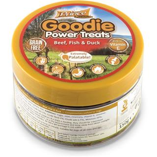 PRINCE Goodie POWER Treats - GOVEDINA, RIBA, RACA 150g