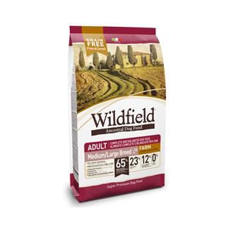 WILDFIELD Medium/Large Breed FARM 12 kg