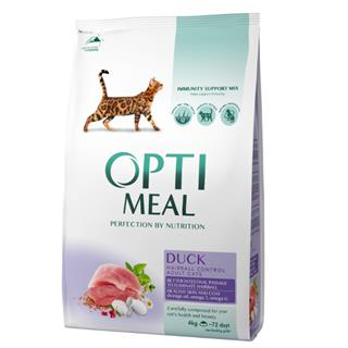 OPTI MEAL Cat Adult HAIRBALL CONTROL - RACA 4 kg