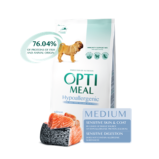 OPTI MEAL DOG MEDIUM HYPO-LOSOS 1,5KG